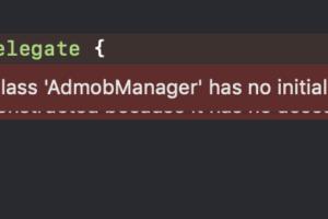 【Swift 4.0】Class 'XXXX' has no initializers の原因と対処法