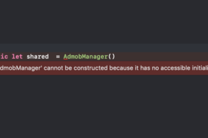 【Swift 4.0】'XXXX' cannot be constructed because it has no accessible initializers