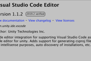 Unity2019.2以降でVSCode(Visual Studio Code)が開かない問題の解決方法
