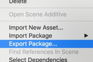UnityPackageの作り方 - パッケージを活用しよう!